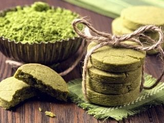 Mal grün backen mit Matcha-Plätzchen