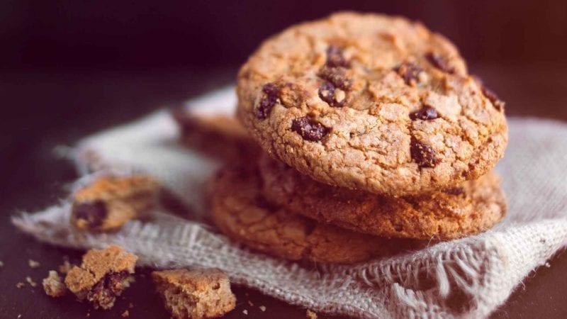 Schokoladen-Protein-Cookies