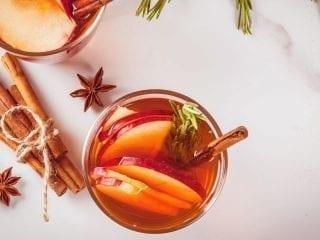 Weihnachtspunsch ohne Alkohol