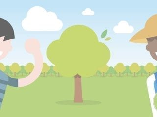Baumpflanz-Aktion von Medicom