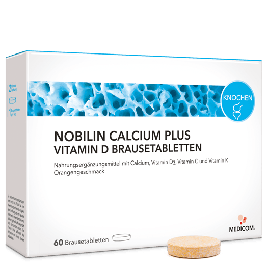 Nobilin Calcium Plus Vitamin D Brausetabletten