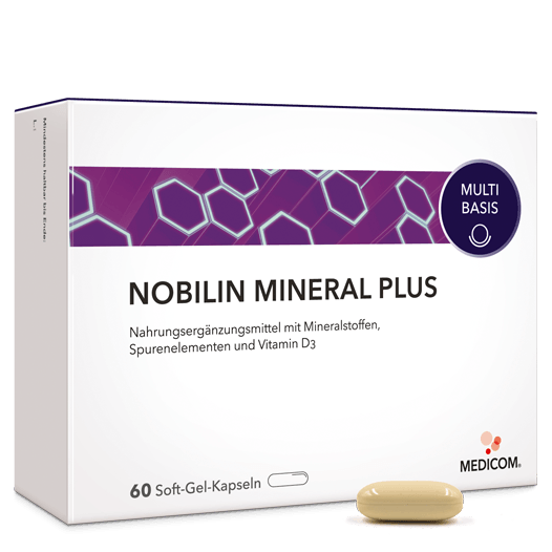 Nobilin Mineral Plus von Medicom: Umfangreich – enthält 11 Mineralstoffe und Vitamin D