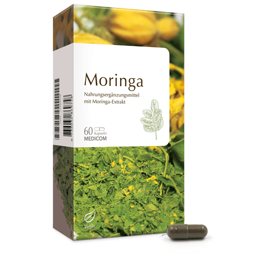 Moringa - Moringa Kapseln aus Moringa-Extrakt von MEDICOM TERRA®
