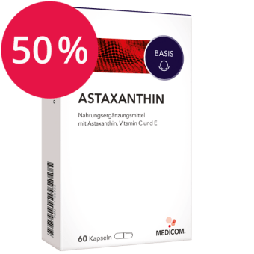Astaxanthin von Medicom mit 50% Rabatt