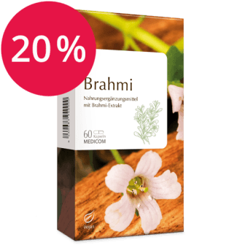 Brahmi mit 20% Rabatt
