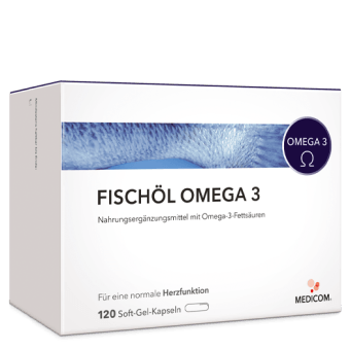 Fischöl Omega 3 – mehrfach ungesättigte Fettsäuren für das Herz-Kreislauf-System