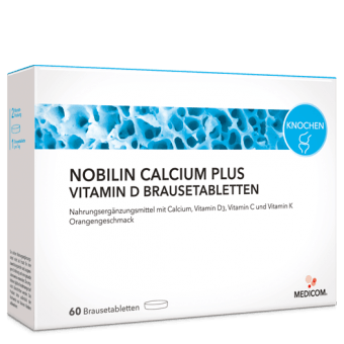 Nobilin Calcium Plus Vitamin D Brausetabletten