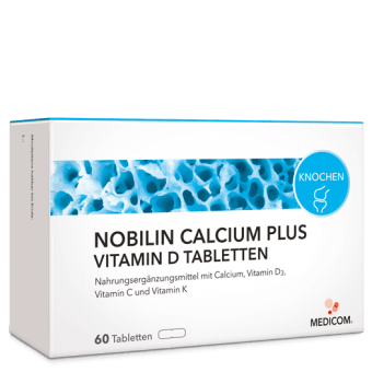 Nobilin Calcium Plus Vitamin D Tabletten: Vitalstoff Kombination – für die Zähne