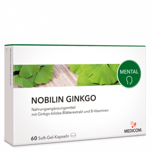 Nobilin Ginkgo – Nahrung für das Gehirn