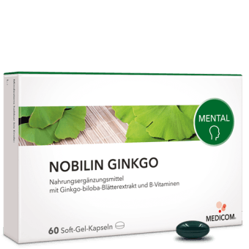 Nobilin Ginkgo – Ginkgo biloba Extrakt und B-Vitamine