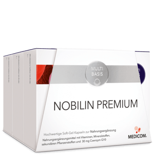 Nobilin Premium: 3 Premium-Produkte – insgesamt 31 Inhaltsstoffe