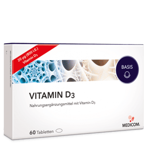 Vitamin D3 – das Sonnenvitamin